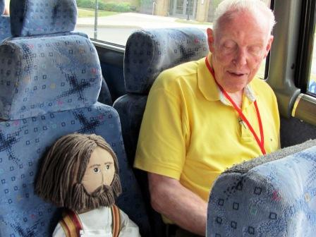 Fr. Jim O'Donnell and Jesus